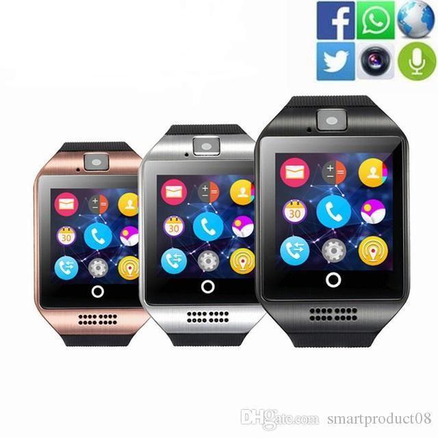 Reloj SmartWatch Q18, con funciones de teléfono y cámara