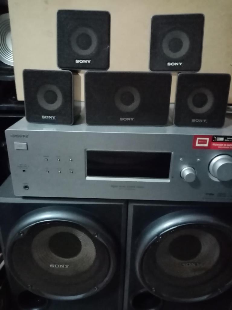 Sistema de cine en casa 5.2 SONY POTENCIA 650 watts RMS