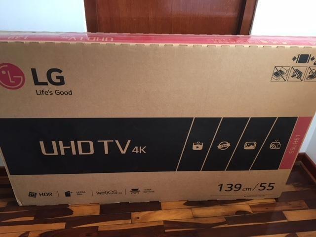 Vendo Televisor LG de 55 UHD, oferta, super precio!!!