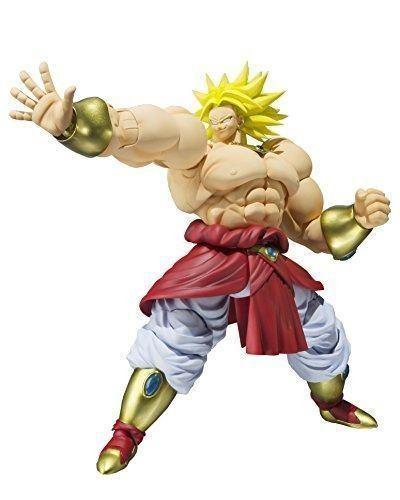 Bandai Naciones Tamashii Sh Figuarts Broly Dragon Ball Z Fig