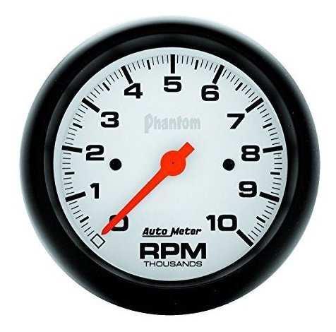Tacometro Electrico Phantom Indash De Auto Meter 5897