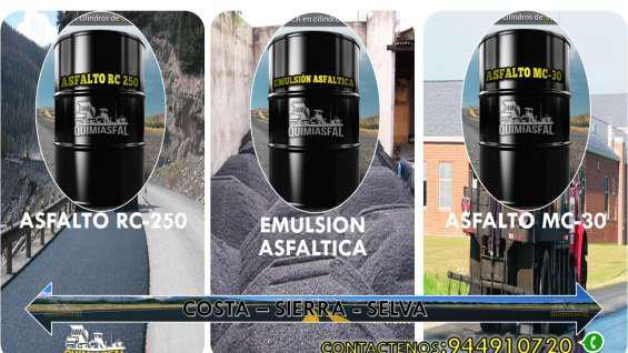 Venta de emulsion asfaltica de rotura lenta 944910720 en