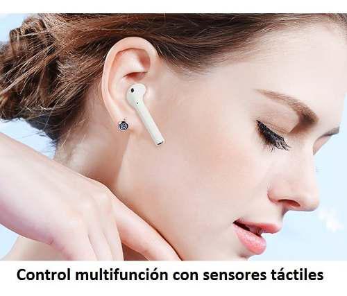 Audífono Bluetooth Táctil-i12 Tws, T. AirPods 2, Versión