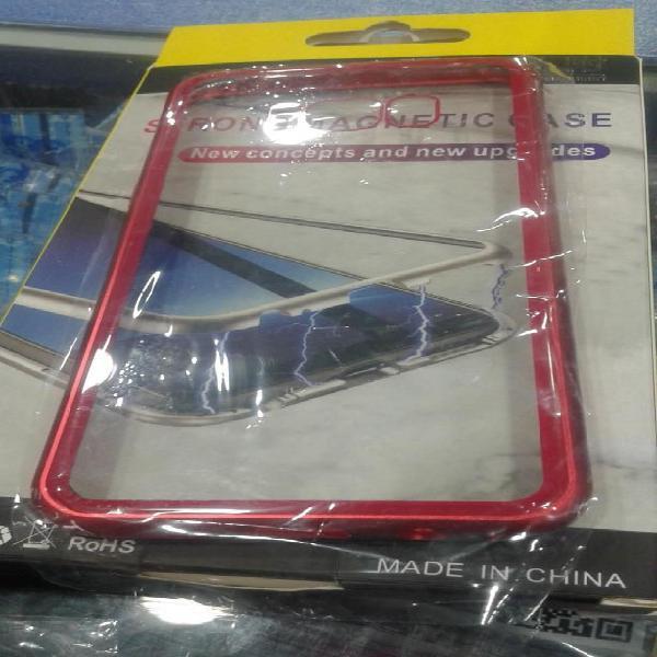 FUNDA CASE PROTECTOR IMANTADO SAMSUNG S8S9 PLUS CELULAR