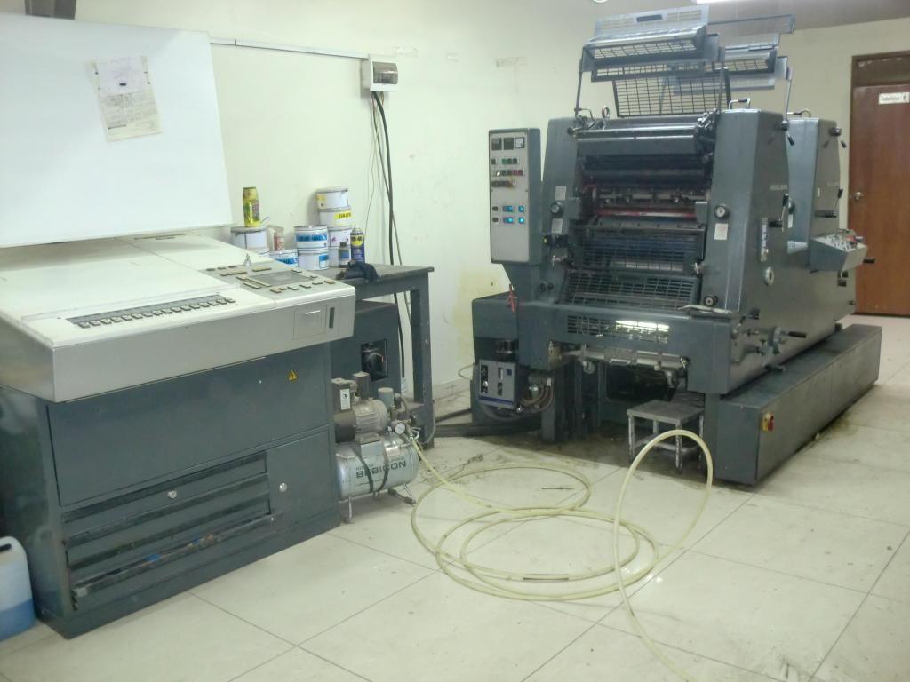 Maquina de Imprenta Heidelberg, No Roland, Solna, ryobi,