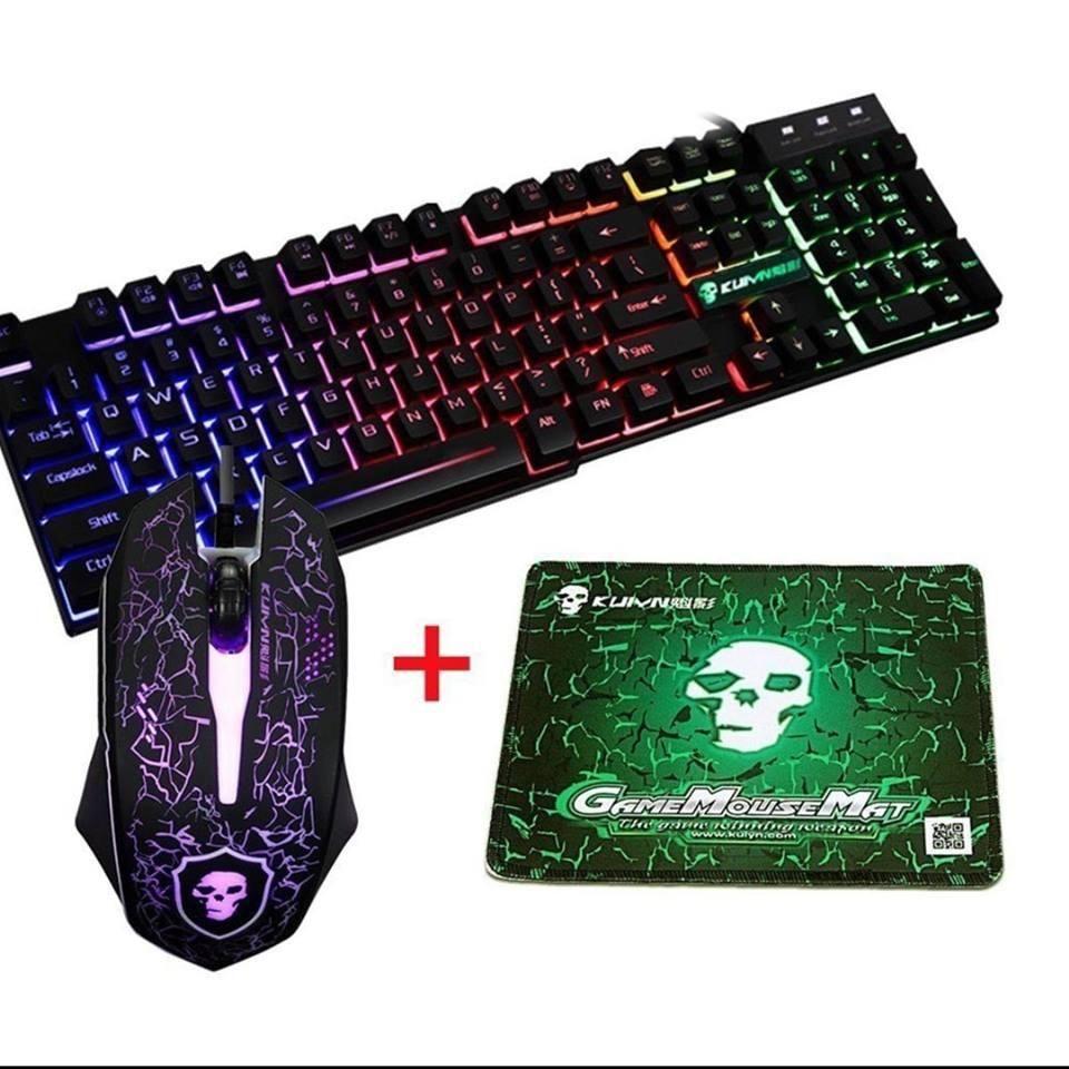 Combo Gamer Teclado Mouse Y Pad