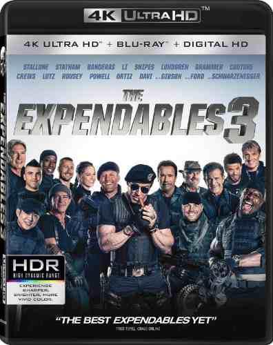 Blu Ray Los Indestructibles 3 En 2d - 4k - Stock - Nuevo
