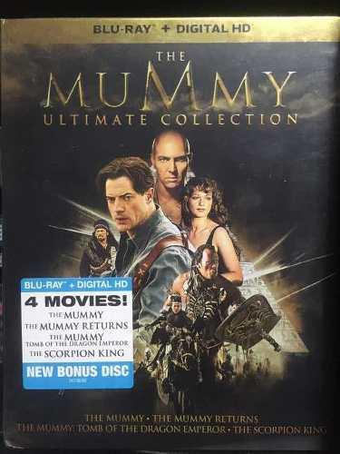 Blu-ray La Momia Set De 4 Películas Nueva Y Sellada