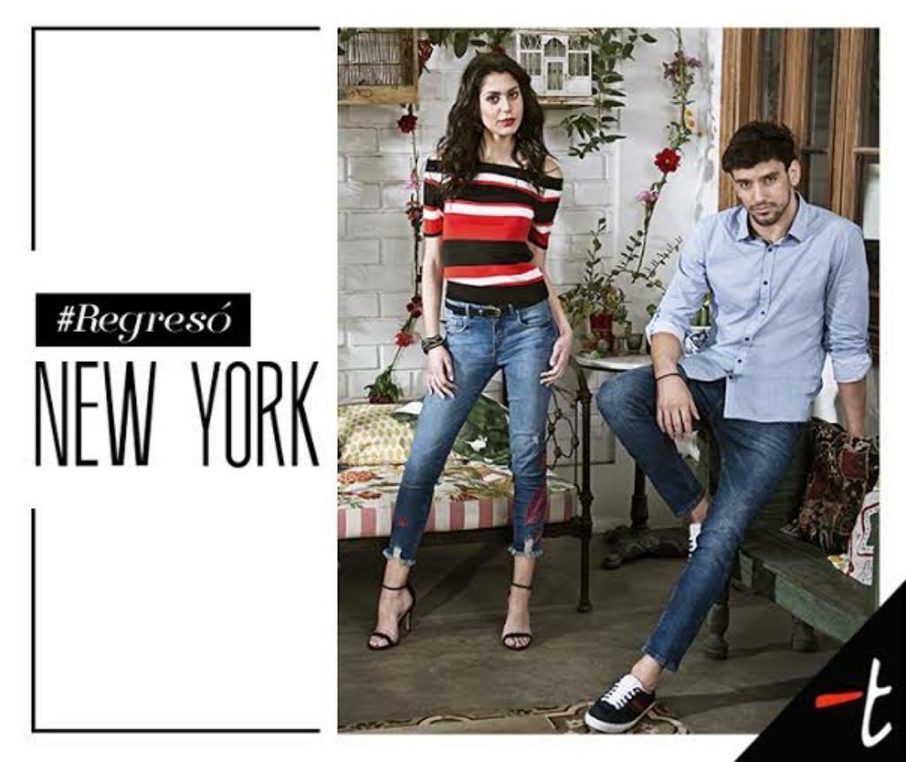 Camisa New York Topitop Talla S