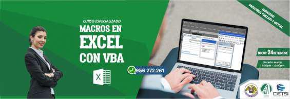 Curso especializado macros en excel con vba 2019 (nuevo) en