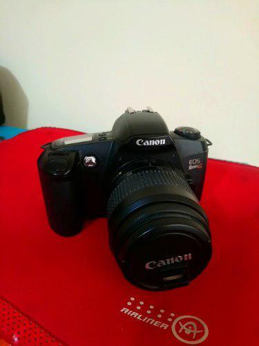Camara Canon Eos Rebel G (film) Lente 35-80 Macro