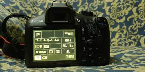 Camara Canon Eos T6, Menos De 1000 Disparos