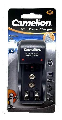 Cargador De Pilas Aa, Aaa Y Baterias 9v. Camelion En Blister