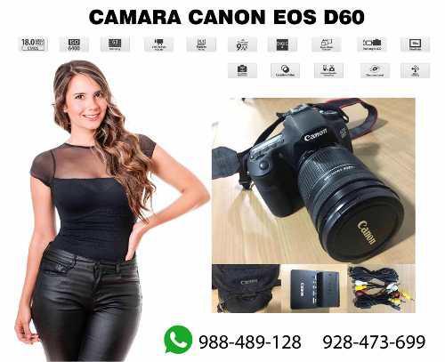 Cámara Canon Eos 60d