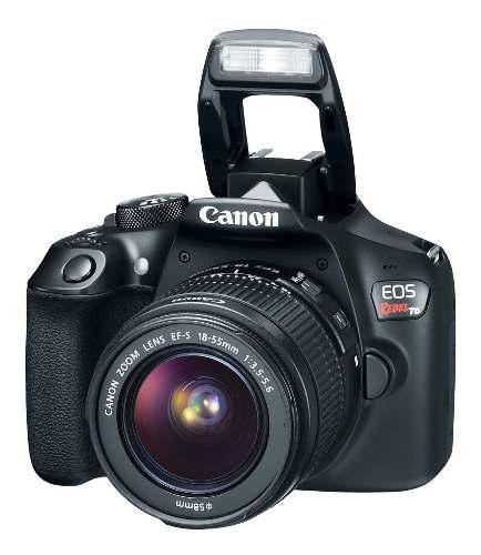Cámara Canon Eos Rebel T6 Dc + Ef S18-55 + Maleta + Micro