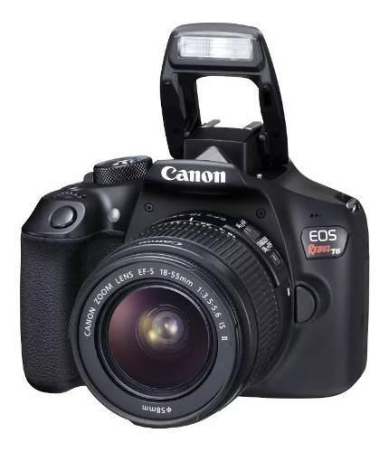 Cámara Canon Eos Rebel T6 (combo 44)+ Ef S18-55 +ef 50