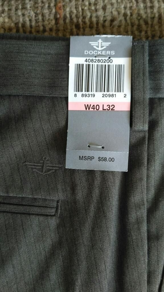 Pantalon Dockers Original Talla 40 X 32 Para Hombre Nuevo