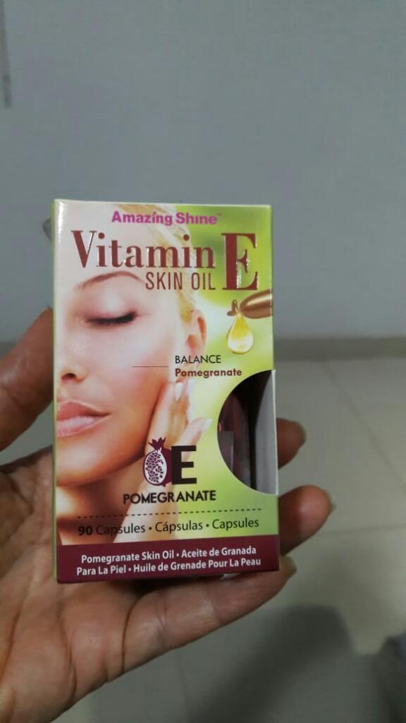 Vitamina E - Aceite de Granada.