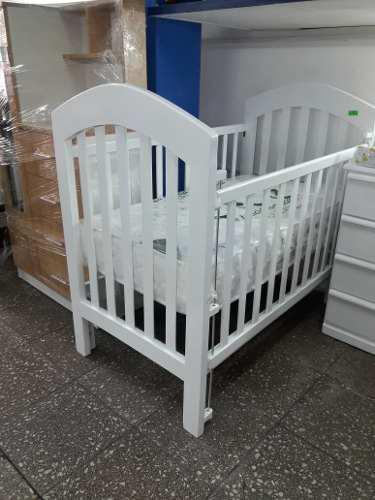 Cuna Para Bebes Al Duco Con Tres Niveles De Colchón