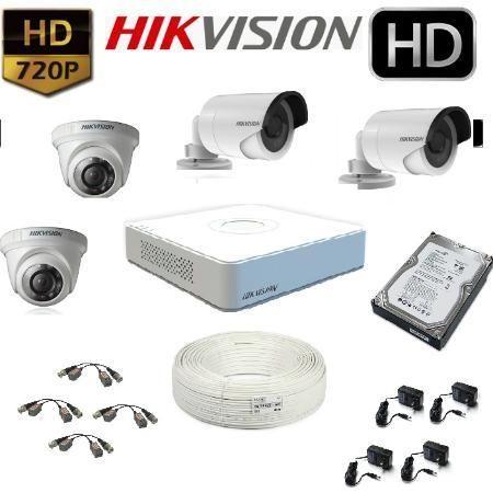 Pack de 4 Camaras de Seguridad HD