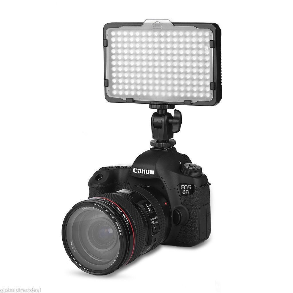 Reflector De Luz Led Para Camaras Y Filmadoras 216 Led,nuevo