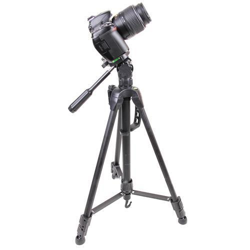 Tripode De Camara Reflex de 1.65mt Para Foto O Video,