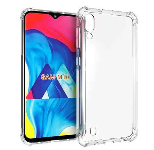 Carcasa, Case, Funda Protectora + Vidrio Samsung Galaxy M10