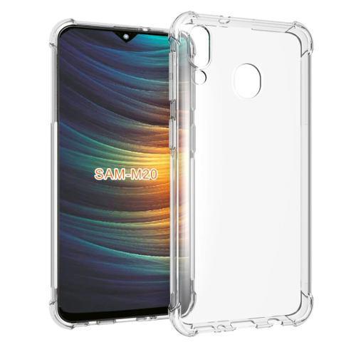 Carcasa, Case, Funda Protectora + Vidrio Samsung Galaxy M20
