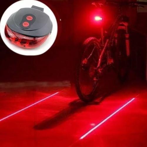 Luz Led Trasera De Seguridad Para Bicicleta O Moto