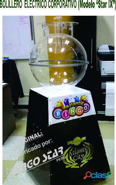 Baloteras para Bingo , Sorteo y Loteria