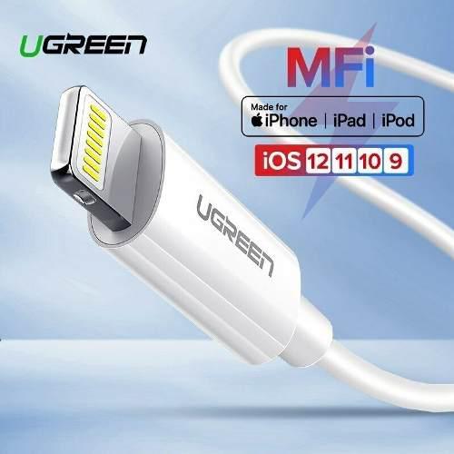 Cable Marca Ugreen Usb 1.5m Carga Y Datos iPhone iPad iPod