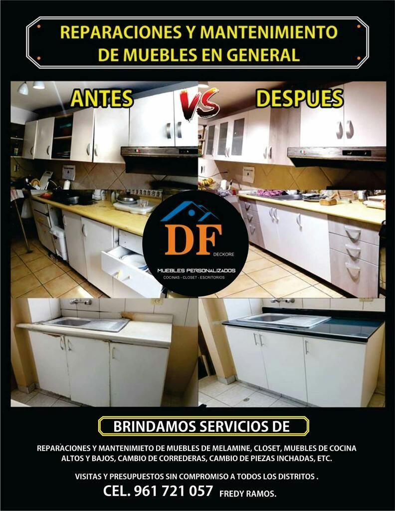 Reparacion Y Mantenimiento D Muebles