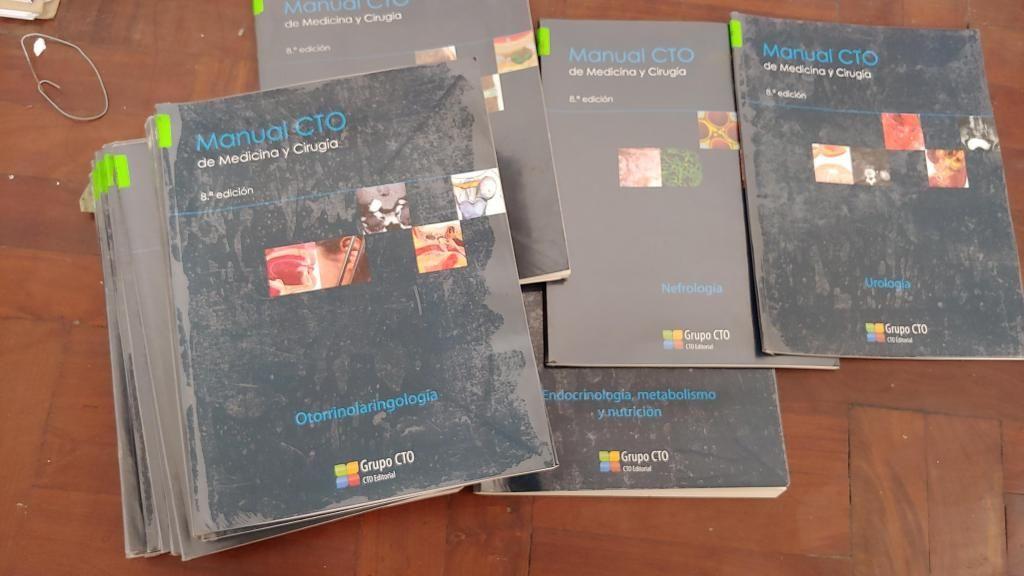 Manuales CTO 8va edición - Remato a 30 soles