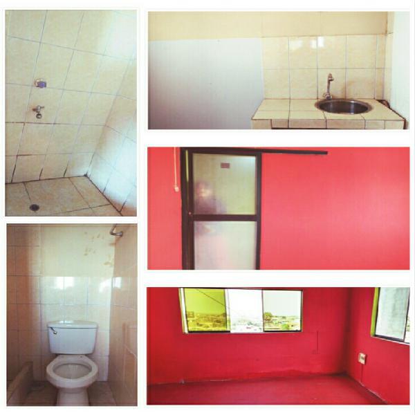 Alquilo habitación con baño y cocina