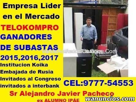 Compradores de muebles usados y cosas usadas. TELOKOMPRO.COM