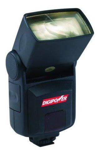 Digipower Auto Focus Flash Con Bounce Para Camaras Digitales