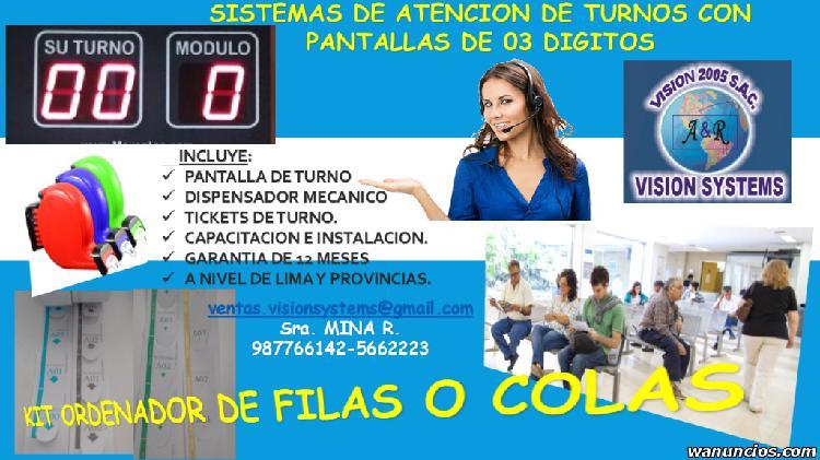 KIT ATENCION DE TURNOS 5662223