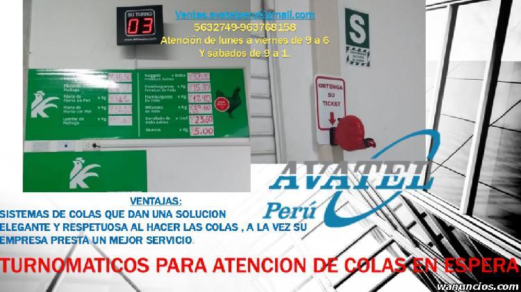KIT ORDENADOR DE COLAS