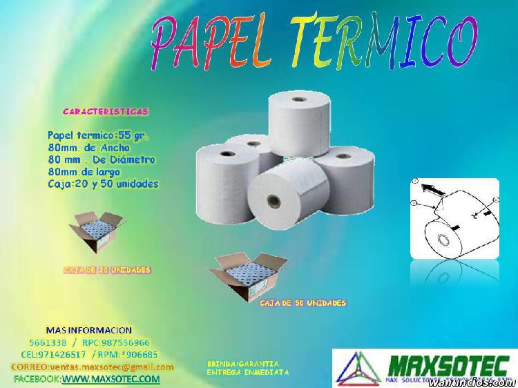 MAXSOTEC /CONTOMETROS TERMICOS DE 80 x 80mm/SOLICTE