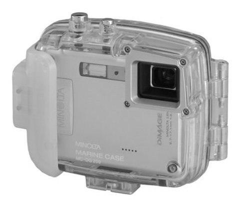 Minolta Mcdg200 Marine Case Para Camaras Digitales Dimage Xt