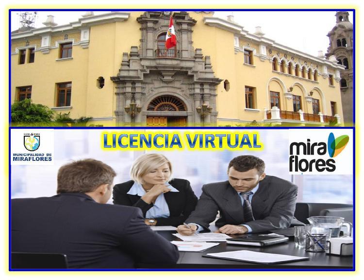 OFICINA VIRTUAL CON LICENCIA MUNICIPAL EN MIRAFLORES