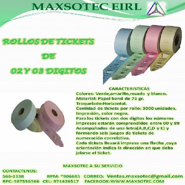 ROLLOS DE ATENCION/MAXSOTEC CONTACTENOS Y SOLICITELOS
