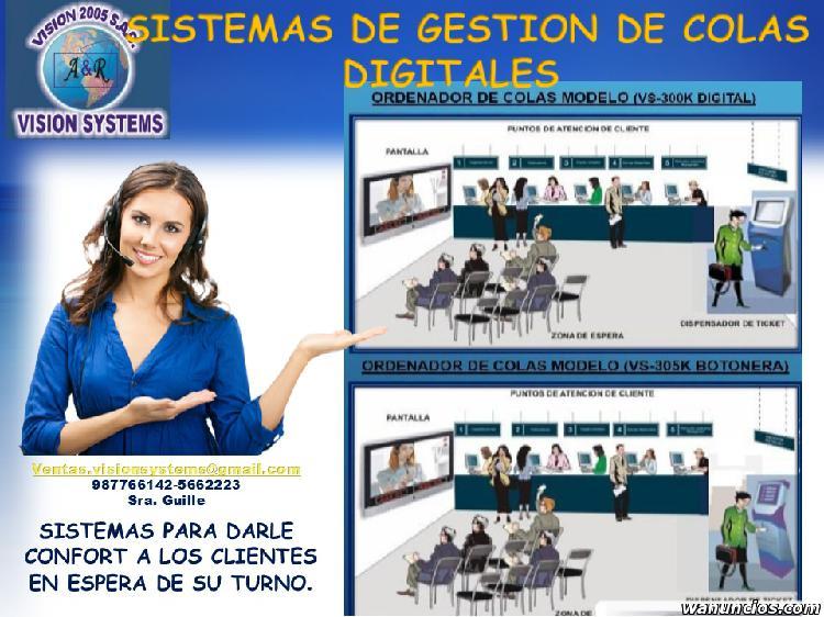 SISTEMAS DE COLAS CON SOFTWARE 5662223