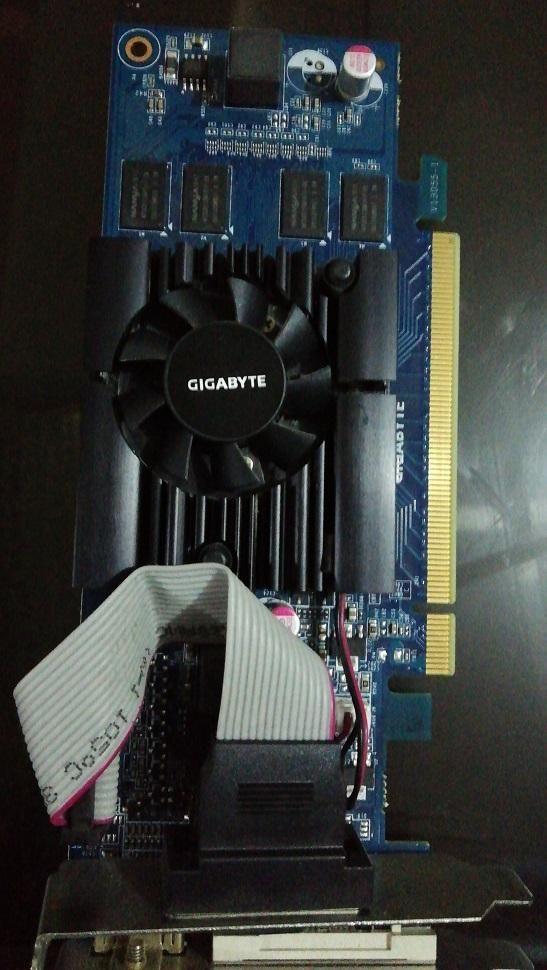 Tarjeta de Video Gigabyte Gv-n210d3-1gl