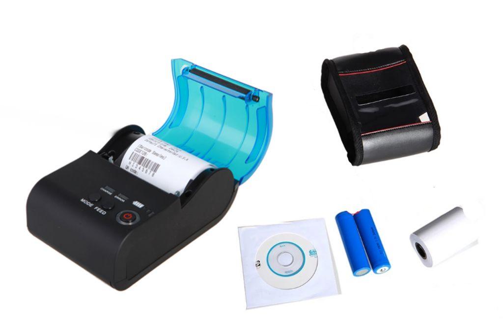 Ticketera Termica Bluetooth Inalambrica 58mm Bateria  mA
