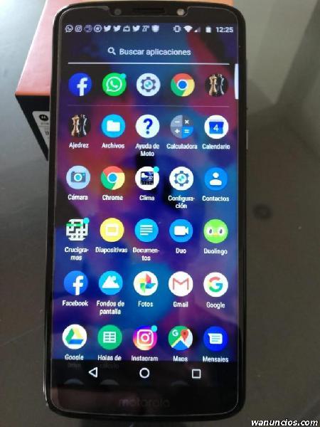 Vendo celular Motorola E5 plus Usado