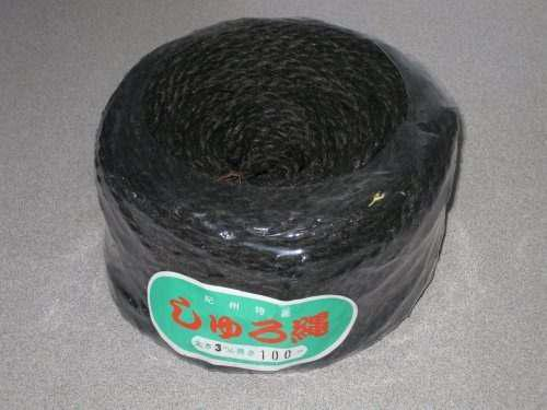 Bonsai Twine Hemp Palm Black 328 Ft Bobina