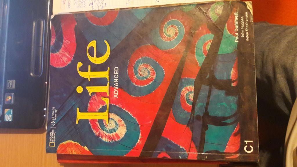 Libro de Ingles Life Advance, usado en buenas condiciones