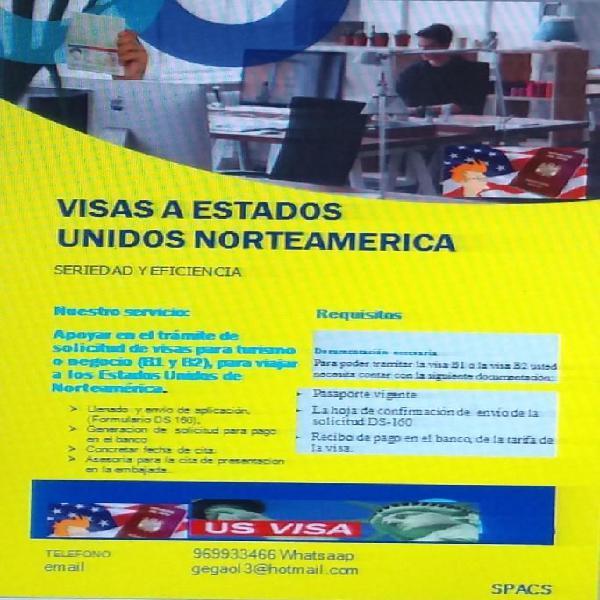 Servicio de asesoría de visas a Estados Unidos