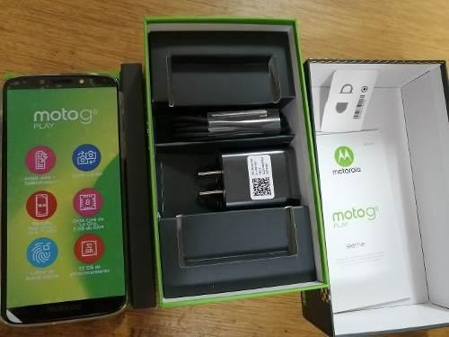 Motorola Moto G6 Play Indigo 32gb 3gb Ram Nuevo